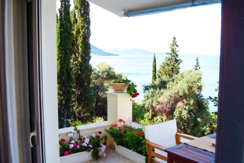 Villa For Sale Corfu Greece. Seafront Corfu Property for Sale. Corfu Homes. House with Sea View in Corfu Greece 4