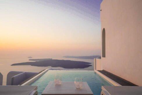 Villa For Sale in Santorini Island. Cave House Imerovigli Santorini 14