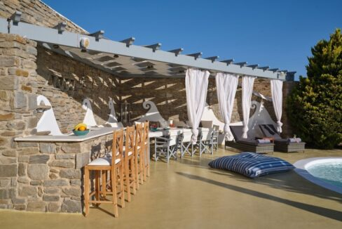 Villa in Paros with panoramic views. Luxury Estates in Paros Greece, Luxury Properties Paros Greece 20