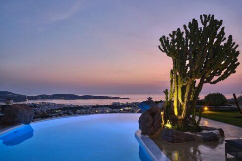 Villa in Paros with panoramic views. Luxury Estates in Paros Greece, Luxury Properties Paros Greece 25