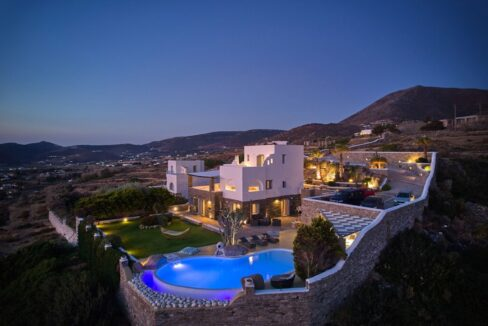 Villa in Paros with panoramic views. Luxury Estates in Paros Greece, Luxury Properties Paros Greece 28
