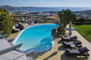 Villa in Paros with panoramic views. Luxury Estates in Paros Greece, Luxury Properties Paros Greece
