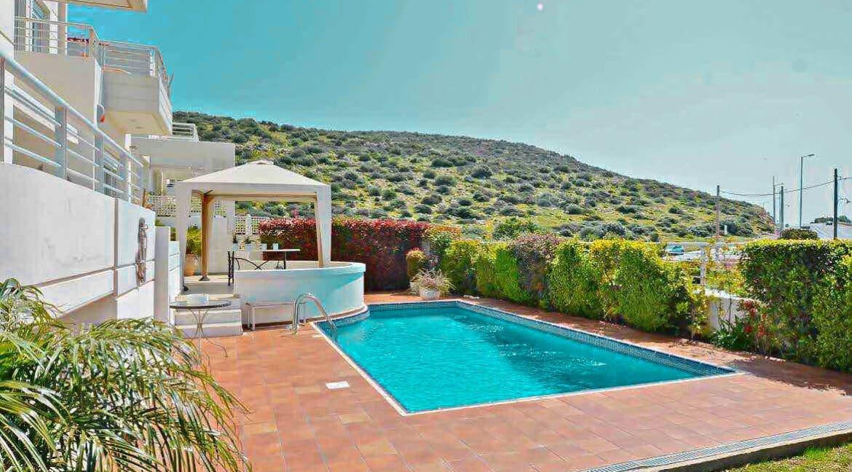 Villa on the sea front at Lagonisi South Attica