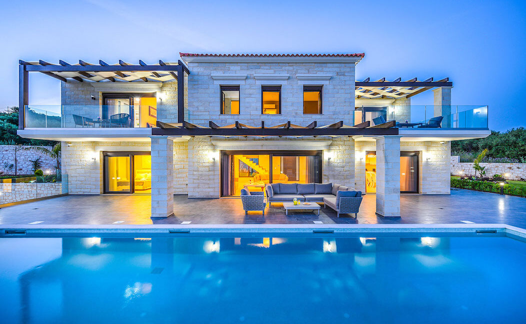 Villa with pool and sea views Crete, Properties in Crete Greece