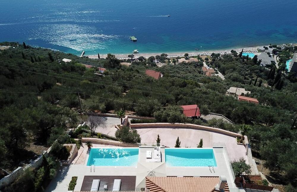 Waterfront Top Villa at Nissaki, Luxury Estate, Top villas, Property in Greece