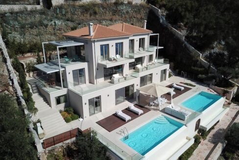 Waterfront Top Villa at Nissaki, Luxury Estate, Top villas, Property in Greece 8