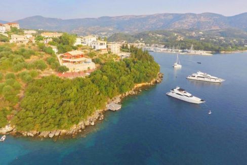 Waterfront villa in Ionio Greece, Seafront Property Sivota near Corfu