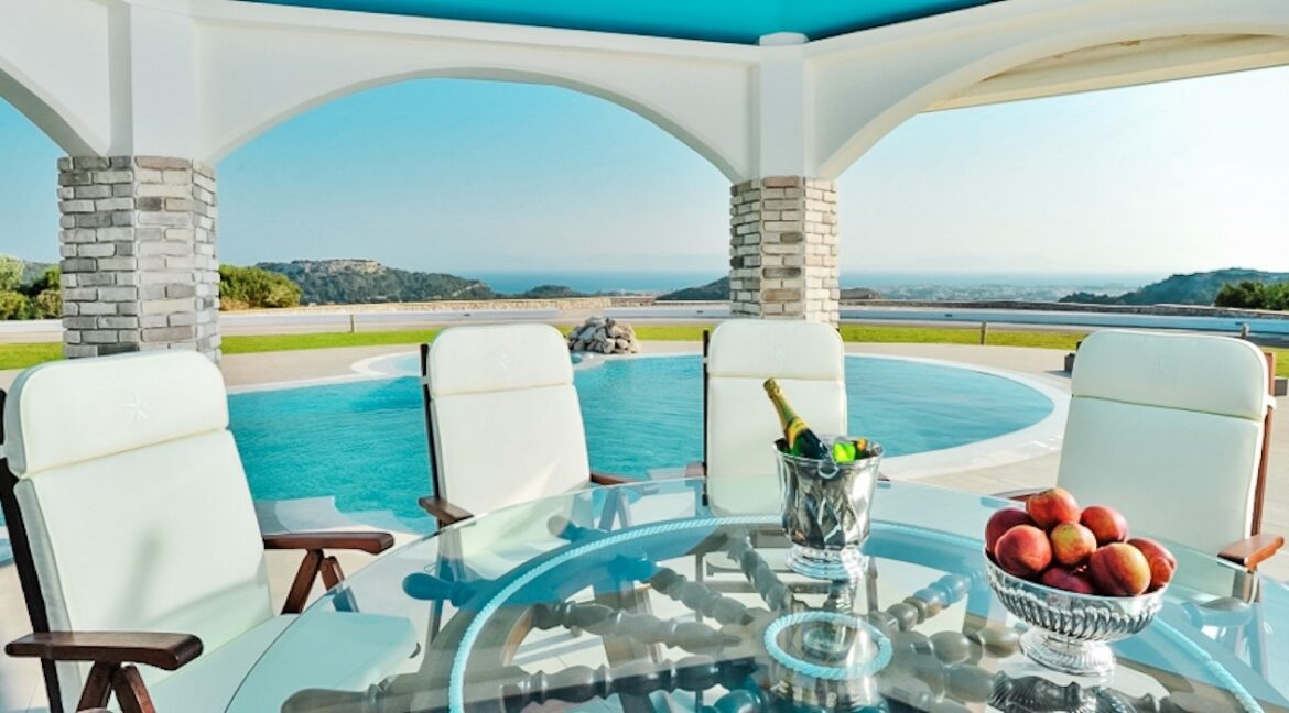 Amazing Top Hill Super Luxury Villa in Rhodes Greece 5