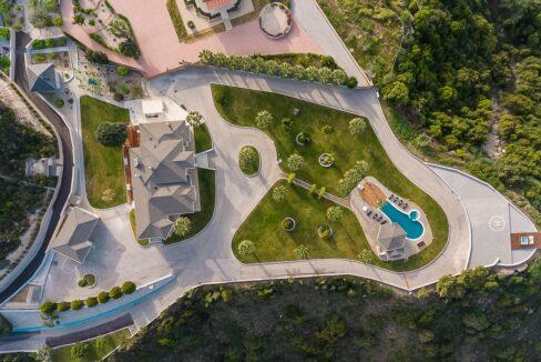Amazing Top Hill Super Luxury Villa in Rhodes Greece 7