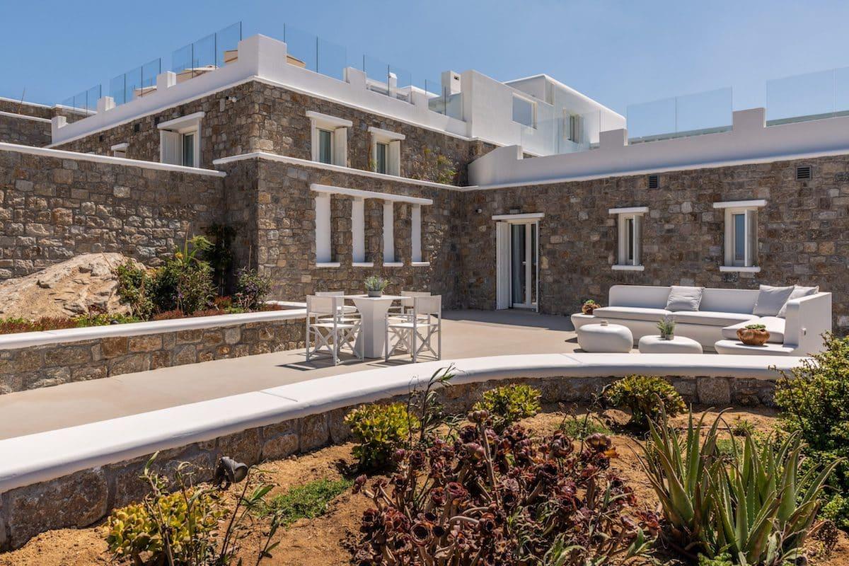 Big Property by the sea Mykonos Greece, Consist of 4 Villas