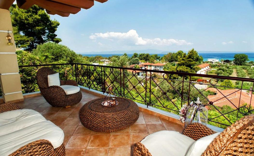 House with sea view for Sale Pefkohori Halkidiki, Kassandra