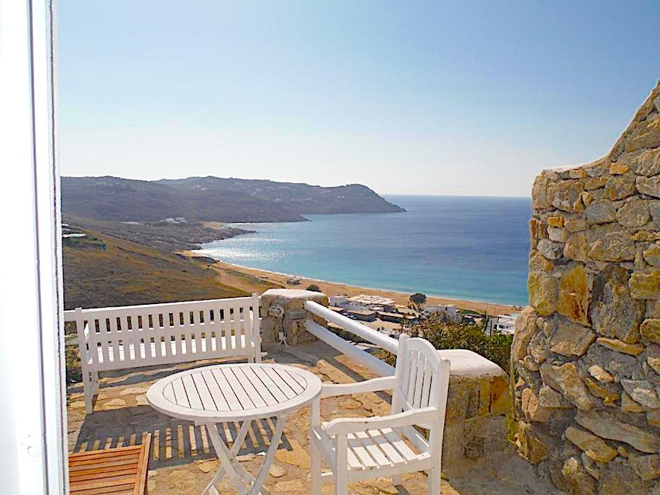2 Levels House with sea view in Mykonos, Elia Beach – Great Opportunity