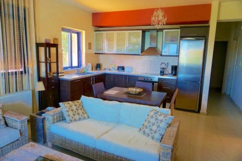 House with sea views in Crete for Sale, view at Souda Bay 10
