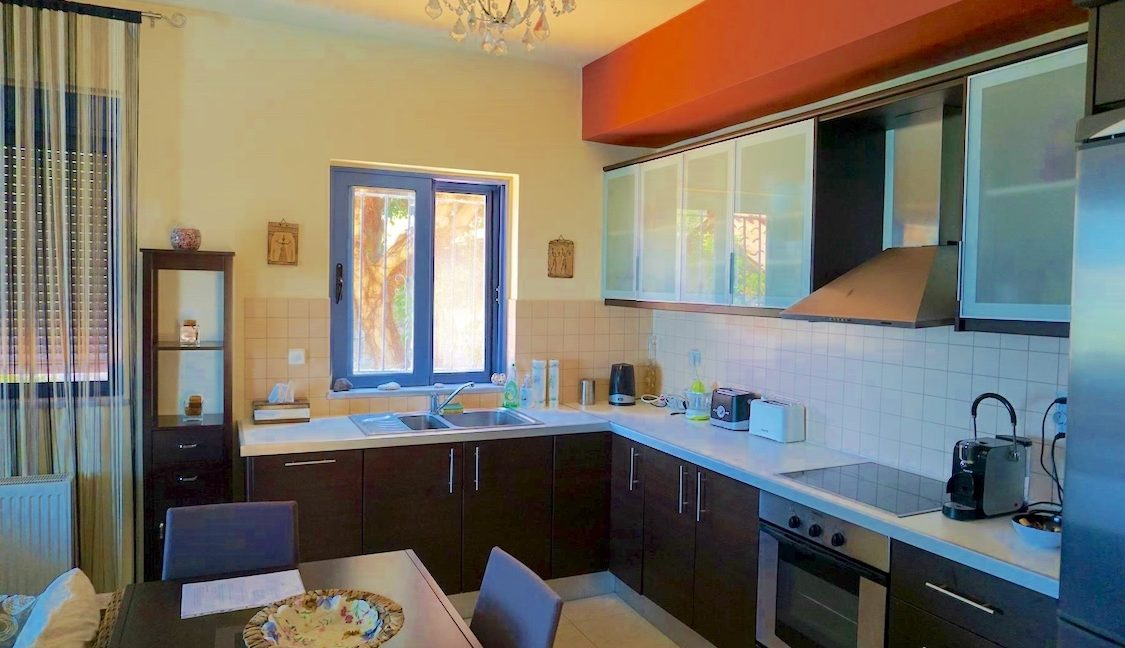 House with sea views in Crete for Sale, view at Souda Bay 11