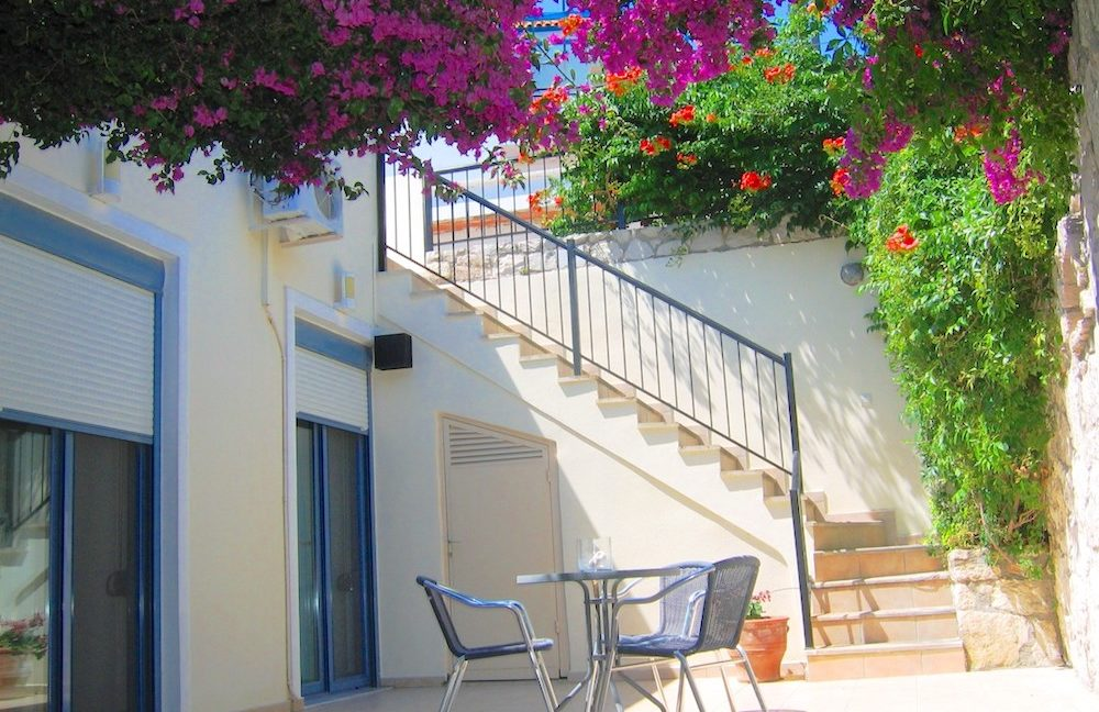 House with sea views in Crete for Sale, view at Souda Bay 12