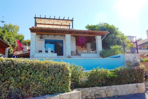 House with sea views in Crete for Sale, view at Souda Bay 13