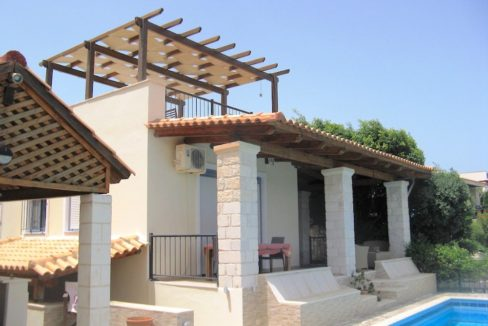 House with sea views in Crete for Sale, view at Souda Bay 14