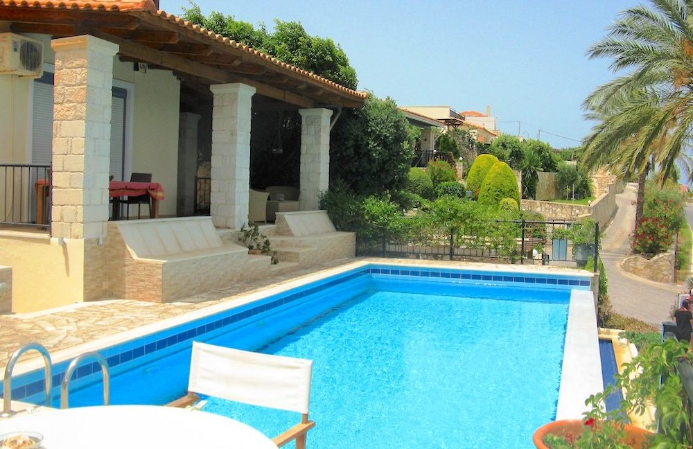 House with sea views in Crete for Sale, view at Souda Bay 15