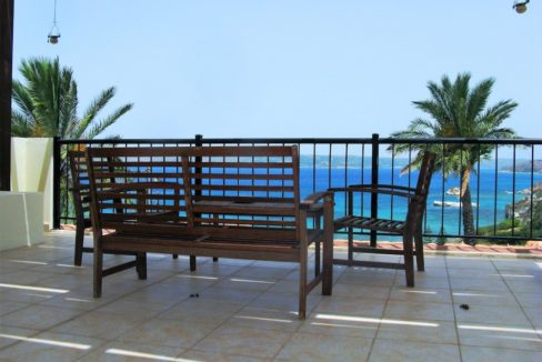 House with sea views in Crete for Sale, view at Souda Bay 16