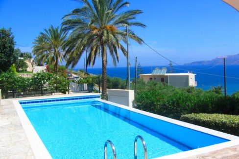 House with sea views in Crete for Sale, view at Souda Bay 17