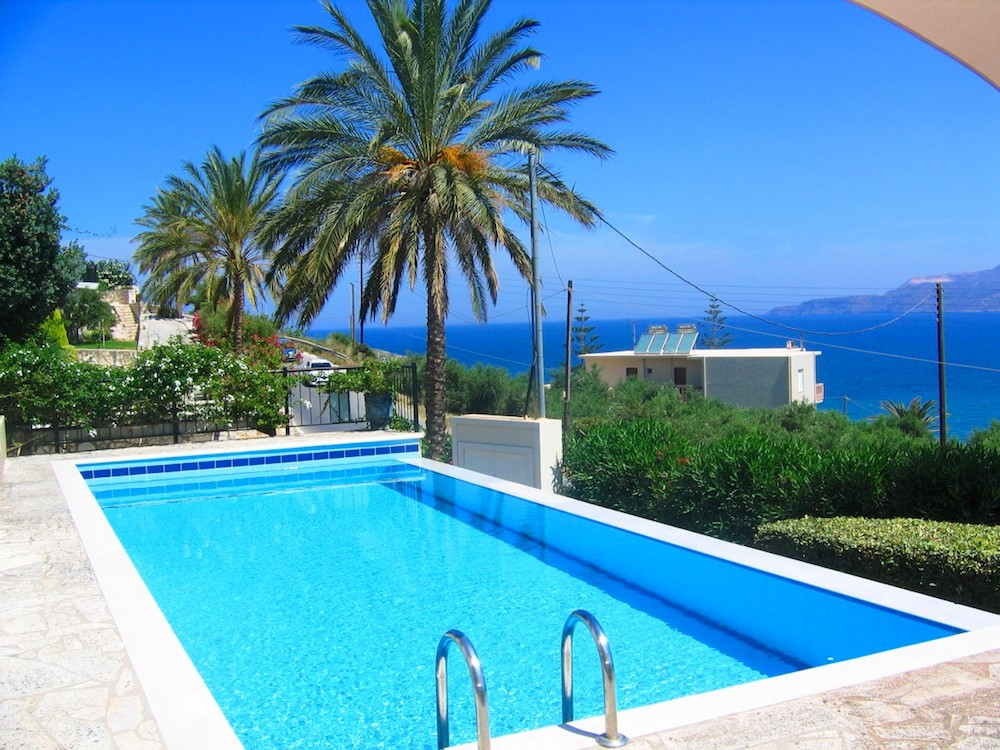 House with sea views in Crete for Sale, breathtaking view at Souda Bay