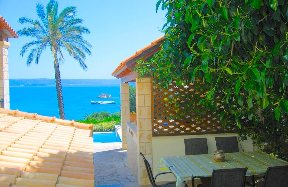 House with sea views in Crete for Sale, view at Souda Bay 4