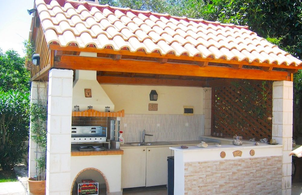 House with sea views in Crete for Sale, view at Souda Bay 5