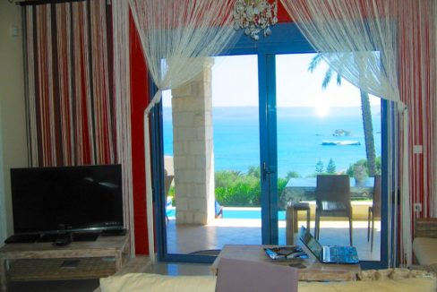House with sea views in Crete for Sale, view at Souda Bay 9