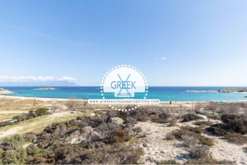 Land Plot by the sea to build a house Halkidiki, Land for sale Halkidiki