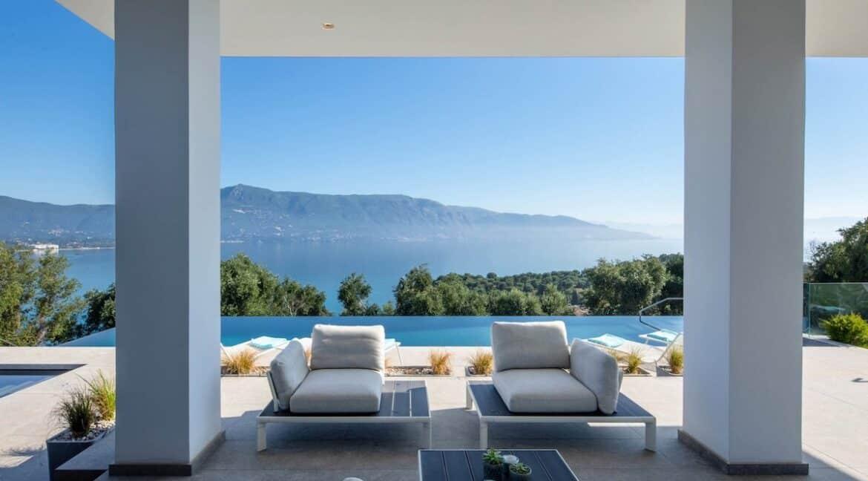 Luxury Villa with Sea View in Corfu Greece , Luxury homes in Corfu 44