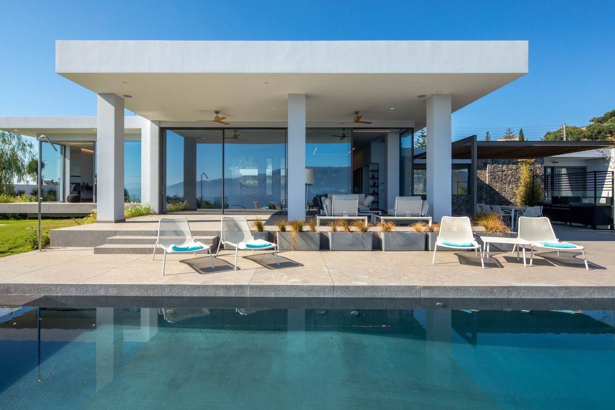Luxury Villa with Sea View in Corfu Greece
