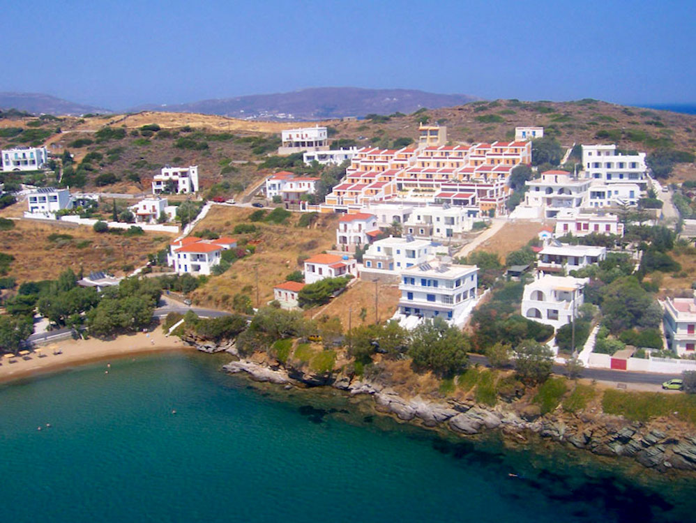 Rooms to Let for Sale in Andros, Seafront, Cyclades Greece
