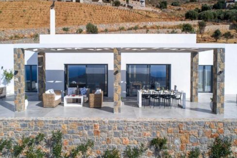 Sea View Villa Elounda Crete, Luxury Villa Crete 12