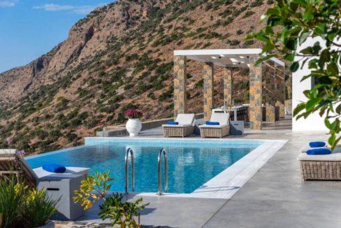 Sea View Villa Elounda Crete, Luxury Villa Crete 13