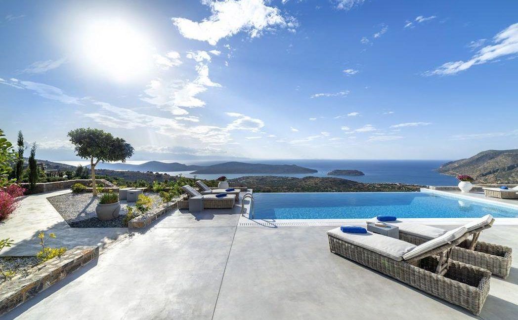 Sea View Villa Elounda Crete, Luxury Villa Crete