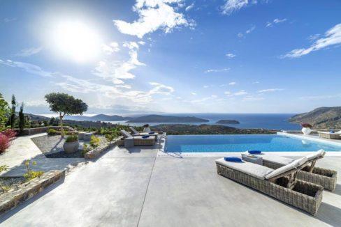Sea View Villa Elounda Crete, Luxury Villa Crete