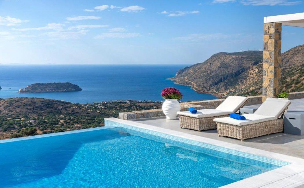 Sea View Villa Elounda Crete, Luxury Villa Crete 23