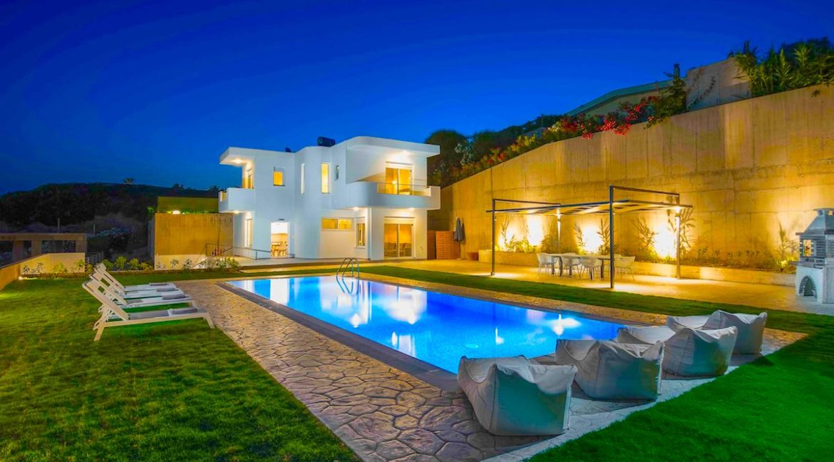 Sea View Villa in Rhodes Dodecanese, Real Estate Greek Islands