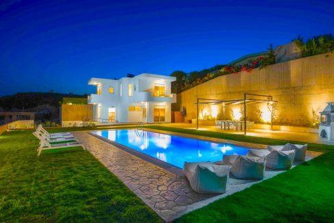 Sea View Villa in Rhodes Dodecanese, Real Estate Greek Islands