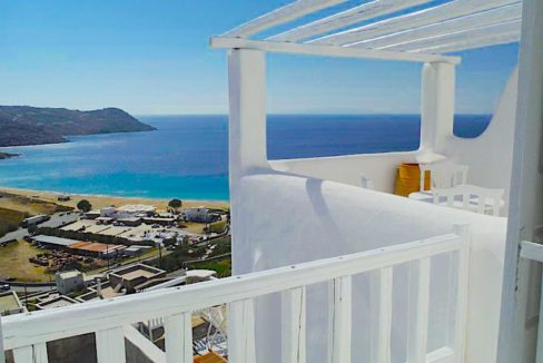 Sea view Apartment in Mykonos