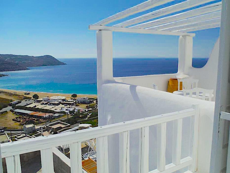 Sea view Apartment in Mykonos, Elia Beach