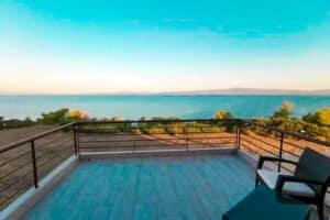 Seafront House for Sale Kassandra Halkidiki, Potidea, Halkidiki Houses, Real Estate in Halkidiki Greece