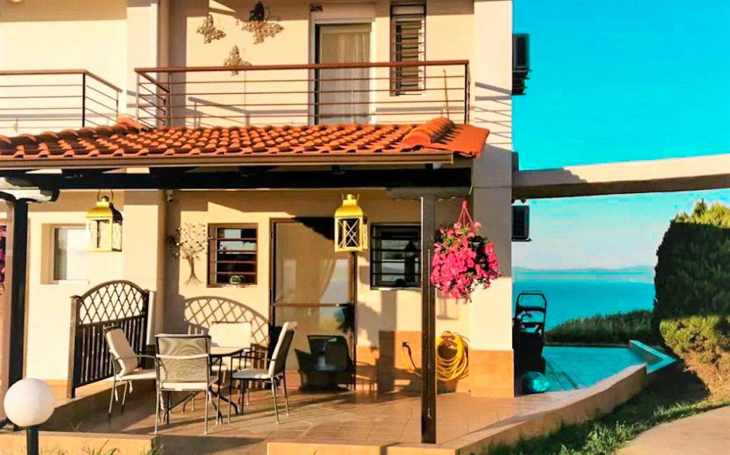 Seafront House for Sale Kassandra Halkidiki, Potidea, Halkidiki Houses, Real Estate in Halkidiki Greece 3