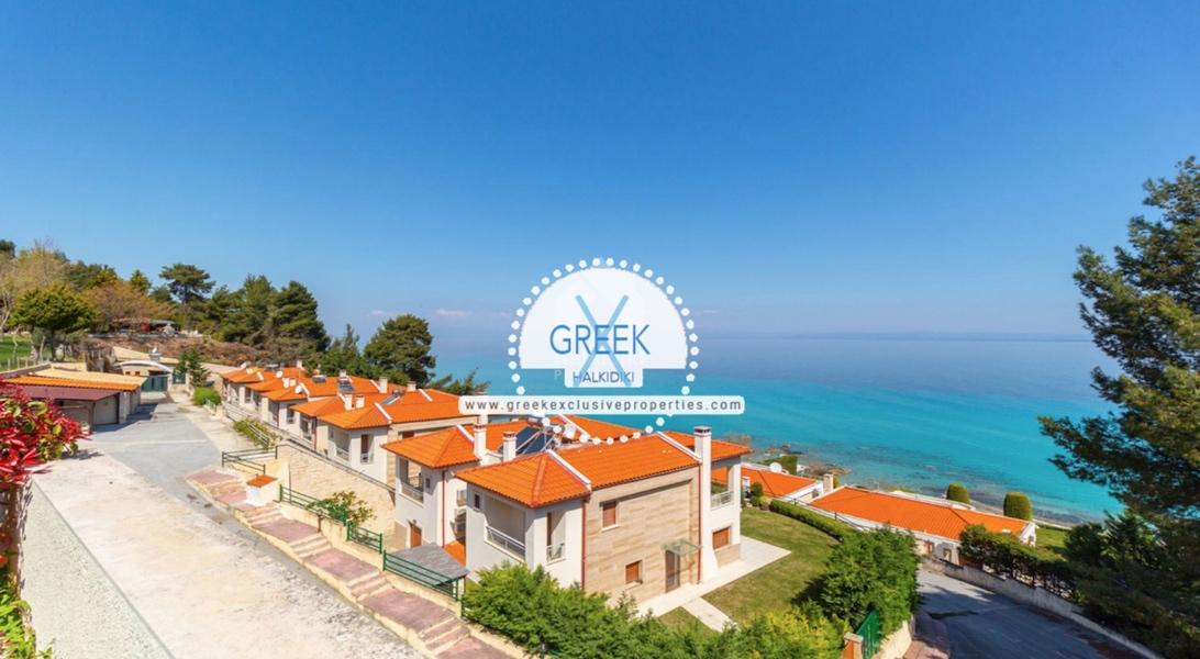 Seafront House for Sale Kassandra Halkidiki, Sea View House Halkidiki 1
