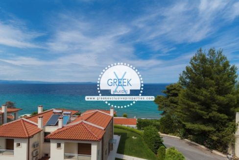 Seafront House for Sale Kassandra Halkidiki, Sea View House Halkidiki 13