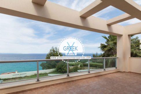 Seafront House for Sale Kassandra Halkidiki, Sea View House Halkidiki 14
