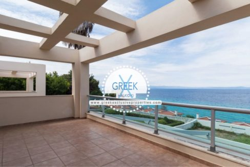 Seafront House for Sale Kassandra Halkidiki, Sea View House Halkidiki 15