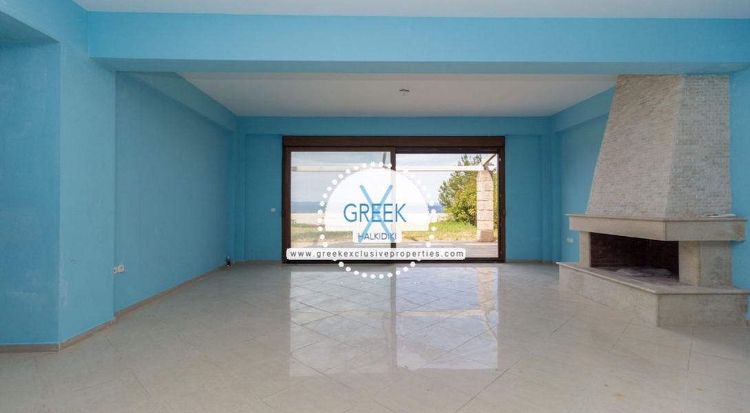 Seafront House for Sale Kassandra Halkidiki, Sea View House Halkidiki 23