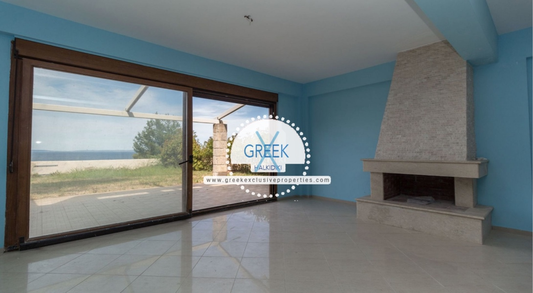 Seafront House for Sale Kassandra Halkidiki, Sea View House Halkidiki 25