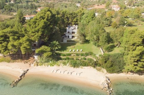 Seafront Land for sale in Nikiti Sithonia